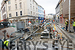 Roadworks in the Mall, Tralee on Tuesday.