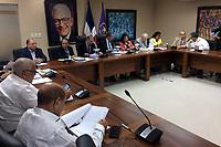 Reunión del Comité Político PLD, para debatir sobre Ley de partidos. Sábado 16 de septiembre del 2017.