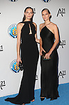 Models Mina Cvetkovic  and Anna Ewers Attend the Unitas Gala <br />