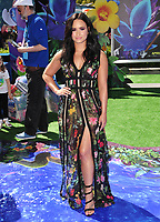 Actress Demi Lovato at the world premiere for &quot;Smurfs: The Lost Village&quot; at the Arclight Theatre, Culver City, USA 01 April  2017<br /> Picture: Paul Smith/Featureflash/SilverHub 0208 004 5359 sales@silverhubmedia.com