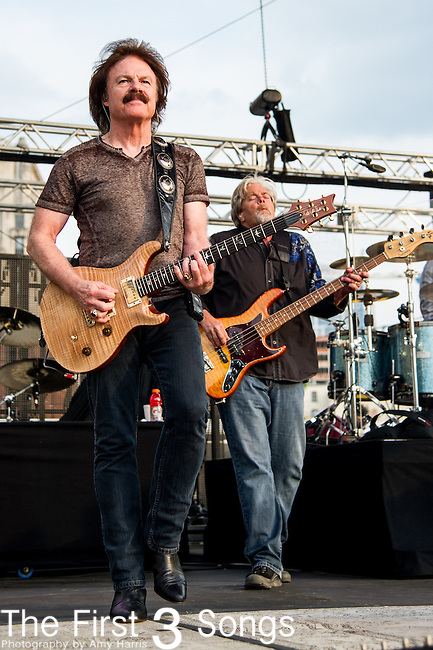 Tom Johnston of the The Doobie Brothers performs at the Horseshoe Casino in Cincinnati, Ohio.