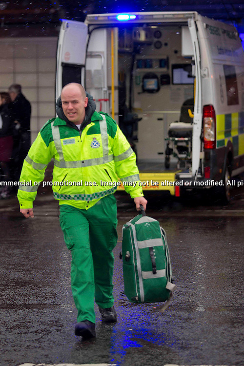 Ricky Paton, Ambulance Paramedic, Edinburgh<br />