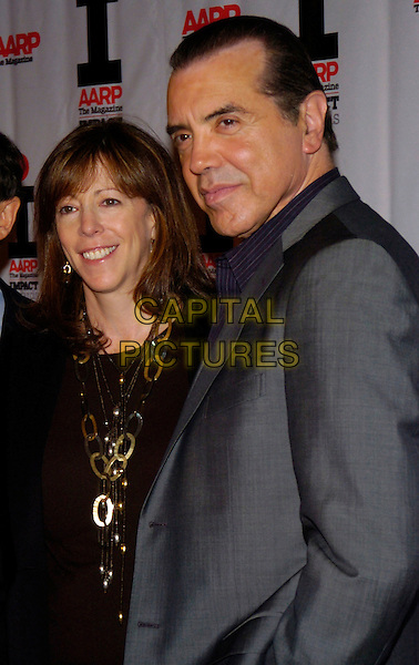 VALERIE HARPER & CHAZ PALMINTERI.AARP Imapact Awards at the New York Public Library, .New York, NY, USA, 18 December 2006..half length.CAP/ADM/BL.©Bill Lyons/Admedia/Capital Pictures *** Local Caption ***