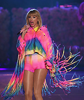 CARSON, CALIFORNIA - JUNE 01: Taylor Swift performs onstage at 2019 iHeartRadio Wango Tango at Dignity Health Sports Park on June 01, 2019 in Carson, California.    /MediaPunch<br /> CAP/MPI/IS<br /> ©IS/MPI/Capital Pictures