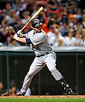 4 September 2009: Minnesota Twins' right fielder Michael Cuddyer in action against the Cleveland Indians at Progressive Field in Cleveland, Ohio. The Indians defeated the Twins 5-2 to take the first game of their three-game weekend series. Mandatory Credit: Ed Wolfstein Photo
