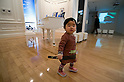SAITAMA - DEC. 5: A young Japanese child, visiting the John Lennon Museum with his parents.  (Photo by Alfie Goodrich/Nippon News)