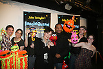 Elmo & Kevin Clash with Linda Dano & Cast Imaginocean at the opening night of John Tartaglia's Imaginocean, a new family undersea musical adventure on March 31, 2010 at New World Stages, New York City, New York. John Tartaglia's ImaginOcean is an interactive family show - a magical, musical undersea adventure for kids of all ages. Tank, Bubbles, and Dorsel are three best friends who just happen to be fish, and they're about to set out on a remarkable journey of discovery. And it all starts with a treasure map. As they swim off in search of clues, they'll sing, they'll dance, and they'll make new friends -- including everyone in the audience. Ultimately, they discover the greatest treasure of all -- friendship. Jam-packed with original music ranging from swing to R&B to Big Band, John Tartaglia's ImaginOcean is a blast rom the first big splash to the last wave goodbye. (Photo by Sue Coflin/Max Photos)