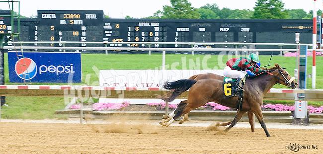 Final Betrayal winning at Delaware Park on 6/15/16