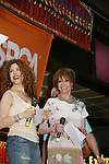 "Hosts Bernadette Peters and Mary Tyler Moore at Broadway Barks 11 - a ""Pawpular"" star-studded dog and cat adopt-a-thon on July 11, 2009 in Shubert Alley, New York City, NY. (Photo by Sue Coflin/Max Photos)"
