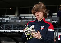 Bolton Wanderers' Luca Connell pictured before the match<br /> <br /> Photographer Andrew Kearns/CameraSport<br /> <br /> The EFL Sky Bet Championship - Derby County v Bolton Wanderers - Saturday 13th April 2019 - Pride Park - Derby<br /> <br /> World Copyright &copy; 2019 CameraSport. All rights reserved. 43 Linden Ave. Countesthorpe. Leicester. England. LE8 5PG - Tel: +44 (0) 116 277 4147 - admin@camerasport.com - www.camerasport.com
