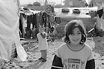 Shatila. In the &quot;gipsy camp&quot;.<br />  <br /> Chatila. Dans le camp des &laquo;Nouriy&eacute;&raquo;, des Tsiganes.