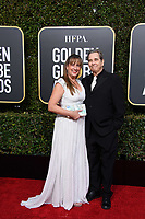 Wendy Treece Bridges and Beau Bridges arrive at the 76th Annual Golden Globe Awards at the Beverly Hilton in Beverly Hills, CA on Sunday, January 6, 2019.<br /> *Editorial Use Only*<br /> CAP/PLF/HFPA<br /> Image supplied by Capital Pictures
