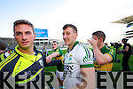 Brian Kelly. Kerry players celebrate their victory over Donegal in the All Ireland Senior Football Final in Croke Park Dublin on Sunday 21st September 2014.