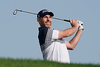 Stephen Gallacher (SCO) in action during the third round of the Omega Dubai Desert Classic, Emirates Golf Club, Dubai, UAE. 26/01/2019<br /> Picture: Golffile | Phil Inglis<br /> <br /> <br /> All photo usage must carry mandatory copyright credit (© Golffile | Phil Inglis)
