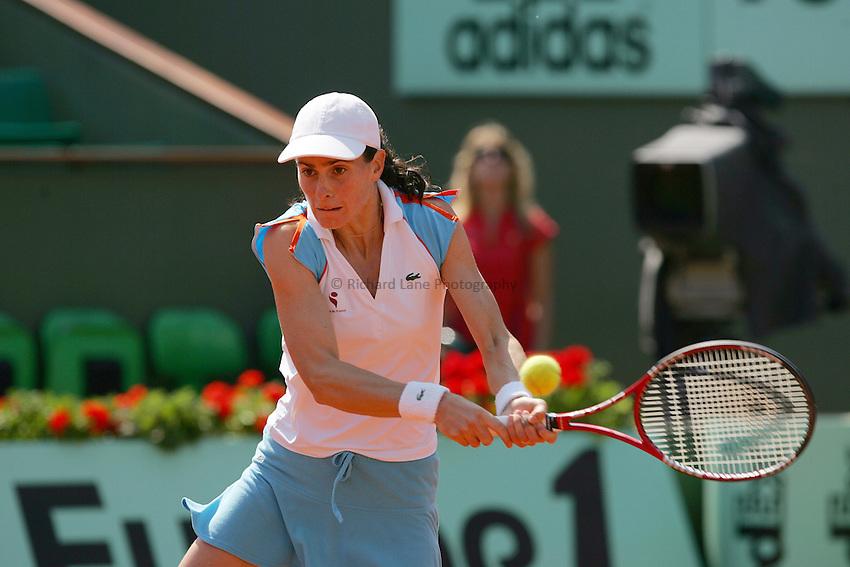 Photo: Iconsport/Richard Lane Photography..Roland Garros 2006..03/06/2006..Nathalie Dechy.