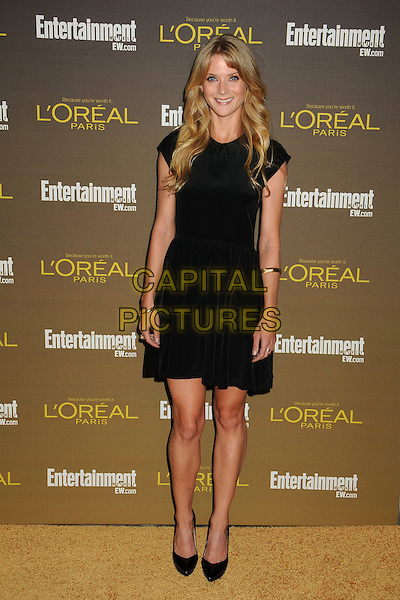 Winter Ave Zoli.Entertainment Weekly's 2012 Pre-Emmy Party held at Fig & Olive, West Hollywood, California, USA..September 21st, 2012.full length dress black.CAP/ADM/BP.©Byron Purvis/AdMedia/Capital Pictures.