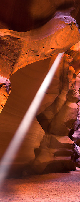 Arizona's Upper Antelope Canyon boasts colorful sandstone and beautiful rays of light
