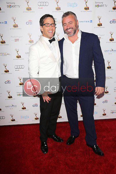 Dan Bucatinsky, Matt LeBlanc<br />