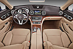 Straight dashboard view of a 2013 Mercedes SL Class