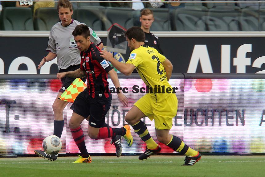 Vaclav Kadlec (Eintracht) gegen Sokratis (BvB) - Eintracht Frankfurt vs. Borussia Dortmund