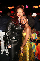 LOS ANGELES, CA - JUNE 23: Rihanna and Marsai Martin at the 2019 BET Awards Show at the Microsoft Theater in Los Angeles on June 23, 2019. Credit: Walik Goshorn/MediaPunch