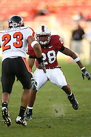 18 November 2006: Peter Griffin during Stanford's 30-7 loss to Oregon State at Stanford Stadium in Stanford, CA.