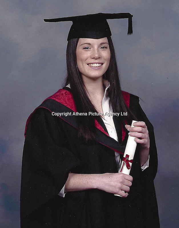 Pictured: Undated family handout picture of Karanne Hollow<br /> Re: Inquest in Swansea, into the death tragic solicitor Karanne Hollow, 32, who killed herself after being caught drink-driving.