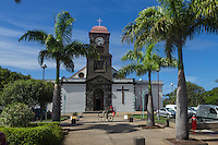 France, île de la Réunion, Saint Joseph, l'église // France, Ile de la Reunion (French overseas department), Saint Joseph, the church