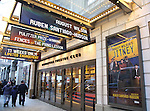 Theatre Marquee unveiling for 'August Wilson's Jitney' at  the Samuel J. Friedman Theatre on January 4, 2017 in New York City.