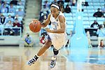 03 January 2013: North Carolina's Latifah Coleman. The University of North Carolina Tar Heels played the University of Maryland Terrapins at Carmichael Arena in Chapel Hill, North Carolina in an NCAA Division I Women's Basketball game. UNC won the game 60-57.