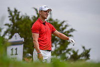 Martin Kaymer (GER) looks over his tee shot on 11 during day 4 of the Valero Texas Open, at the TPC San Antonio Oaks Course, San Antonio, Texas, USA. 4/7/2019.<br /> Picture: Golffile | Ken Murray<br /> <br /> <br /> All photo usage must carry mandatory copyright credit (© Golffile | Ken Murray)
