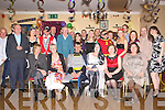 Aidan Griffin Boolteens seated centre who celebrated his 40th birthday with his family and friends in the Anvil bar Boolteens on Saturday night.