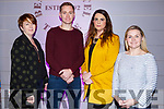 Breda O'Dwyer (IT Tralee), Joey O'Connor, Emma Gill (Affinity Communications) and Sarah Flaherty (IT Tralee)  attending the Founder Friday initiative by Bank of Ireland and IT Tralee in Benners Hotel on Friday evening last.