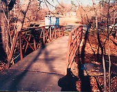 "Washington, DC - February 20, 2001 -- ""Ellis"" drop site - Under a footbridge over Wolftrap Creek near Creek Crossing Road at Foxstone Park near Vienna, Virginia..Credit: FBI via CNP"