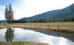 Idaho, North, Boundary County. Landscape in Paradise Valley.