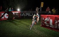 Sven Nys (BEL/Crelan-AAdrinks) testing the course<br /> <br /> Cross Vegas 2014