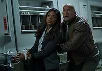 Rampage (2018)   <br /> DWAYNE JOHNSON, NAOMIE HARRIS<br /> *Filmstill - Editorial Use Only*<br /> CAP/MFS<br /> Image supplied by Capital Pictures