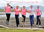 RTE's Miriam O'Callaghan and Kerry footballer Marc O'Se join Deirdre Geaney, Aisling O'Connor and Mairead Breathnach in Dingle at the weekend for the launch of the Dingle Womens' Mini Marathon on May 18th in aid of the National Breast Cancer Research Institute and lcoal school Pobalscoil Chorca Dhuibhne at the weekend..The mini marathon is intended to cater for women of all levels of fitness with walkers, joggers and runners being encouraged to take part. It is anticipated that the 10km run will become a permanent fixture for recreational runners and walkers as the peninsula's landscape forms one of the most impressive backdrops imaginable for any such event. .The event is being run on a 'not for profit' basis. The benificiaries are National Breast Cancer Research Institute and Pobalscoil Chorca Dhuibhne for the development of a playing pitch with running track. .With less than three weeks to the big event, registration for Dingle Women's Mini Marathon is ongoing and further details are available on www.dingleminimarathon.com .Photo:Don MacMonagle - www.macmonagle.com.