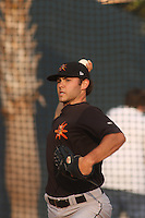 Jake Arrieta of the Frederick Keys vs. The Myrtle Beach Pelicans at BB&T Coastal Field in Myrtle Beach, SC on May 31, 2008