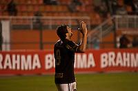 SAO PAULO, SP, 11 JULHO 2012 - CAMPEONATO BRASILEIRO - COR X BOT -  Welkison  do Botafogo comemora gol contra o Corinthians em jogo valido pela setima rodada do Campeonato Brasileiro no Estadio do Pacaembu na noite dessa quarta-feira, 11 - FOTO:VAGNER CAMPOS - BRAZIL PHOTO PRESS.