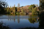 Jordan Pond at Garin Regional Park in autumn