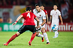 Shanghai FC Forward Givanildo Vieira De Sousa (Hulk) (R) in action during the AFC Champions League 2017 Quarter-Finals match between Guangzhou Evergrande (CHN) vs Shanghai SIPG (CHN) at the Tianhe Stadium on 12 September 2017 in Guangzhou, China. Photo by Marcio Rodrigo Machado / Power Sport Images