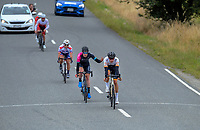 Karl Poole of New Zealand/NZ Cycling Project wins sprint two during stage two of the NZ Cycle Classic UCI Oceania Tour (Gladstone circuit) in Wairarapa, New Zealand on Thursday, 16 January 2020. Photo: Dave Lintott / lintottphoto.co.nz