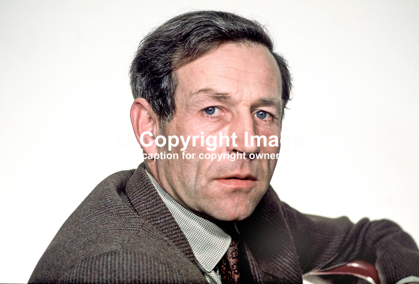 Captain John Brooke, Ulster Unionist, MP, N Ireland Parliament, 196903000117b. He became the 2nd Viscount Lord Brookeborough on the death of his father in 1971.<br />