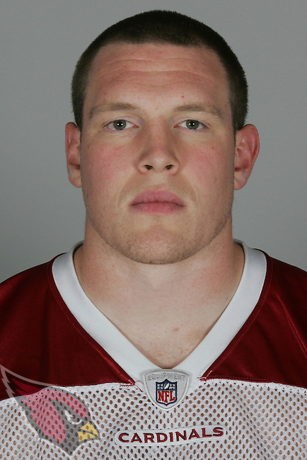 This is a 2009 photo of Brandon Pearce of the Arizona Cardinals football team.