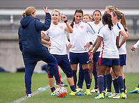 USWNT Training, October 19, 2015