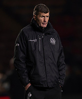 Exeter Chiefs' Head Coach Rob Baxter<br /> <br /> Photographer Bob Bradford/CameraSport<br /> <br /> Gallagher Premiership Round 9 - Harlequins v Exeter Chiefs - Friday 30th November 2018 - Twickenham Stoop - London<br /> <br /> World Copyright &copy; 2018 CameraSport. All rights reserved. 43 Linden Ave. Countesthorpe. Leicester. England. LE8 5PG - Tel: +44 (0) 116 277 4147 - admin@camerasport.com - www.camerasport.com
