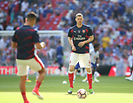 Per Mertesacker of Arsenal warms up before the Emirates FA Cup Final match at Wembley Stadium, London. Picture date: May 27th, 2017.Picture credit should read: David Klein/Sportimage