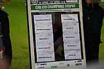 11.03.2019, Merkur Spielarena, Duesseldorf , GER, 1. FBL,  Fortuna Duesseldorf vs. Eintracht Frankfurt,<br />  <br /> DFL regulations prohibit any use of photographs as image sequences and/or quasi-video<br /> <br /> im Bild / picture shows: <br /> Verlosung CRB U19 Trophy<br /> <br /> Foto &copy; nordphoto / Meuter