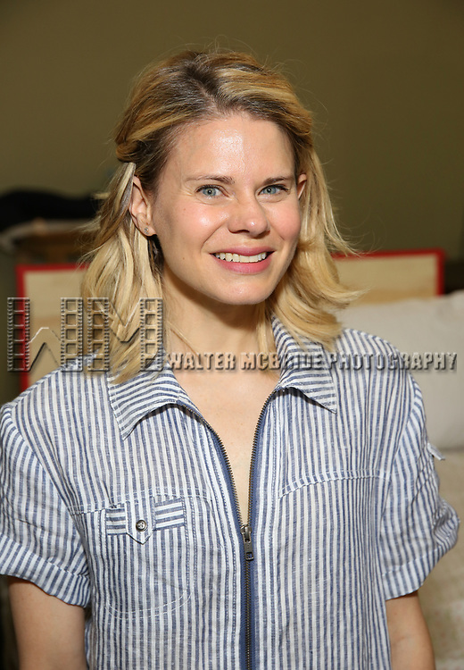 Celia Keenan-Bolger attends the cast photo call for the Second Stage production of  'A Parallelogram' at the Second Stage rehearsal studios on June 29, 2017 in New York City.